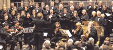 Volles Haus: Vokalensemble Heilbronn und Instrumentalsolisten bei der Stunde der Kirchenmusik in der Kilianskirche. Foto: Monika Köhler
